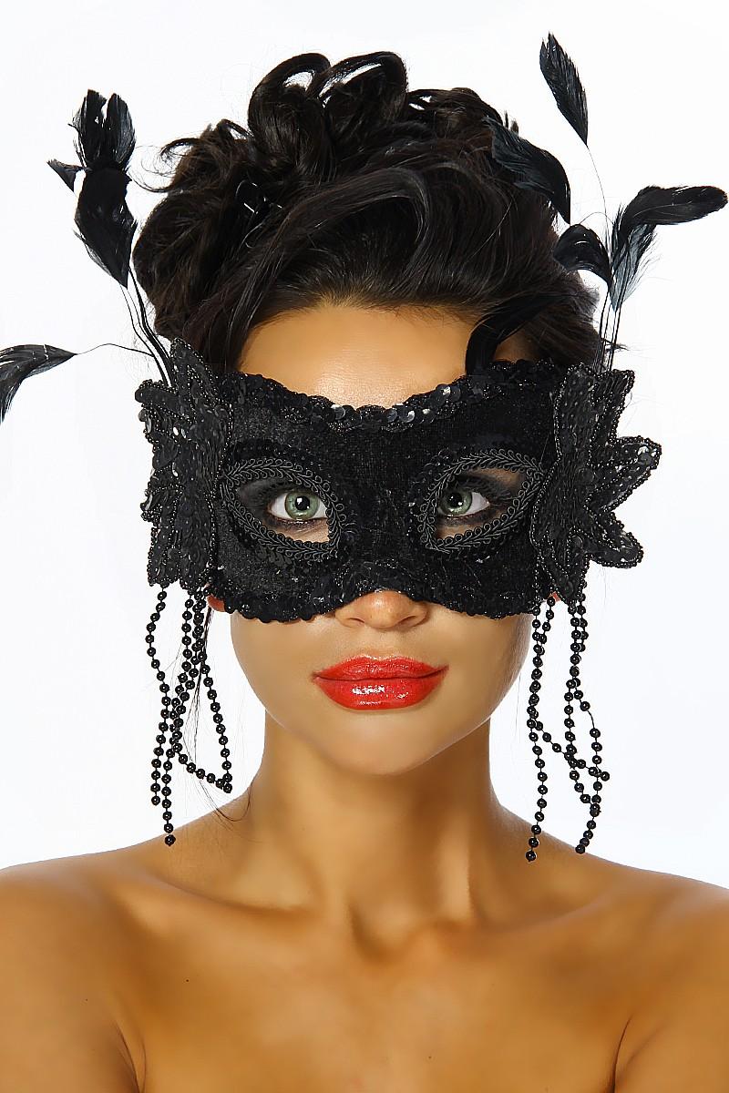 venezianische maske augenmaske venedig maskenball swingerclub schwarz ebay. Black Bedroom Furniture Sets. Home Design Ideas