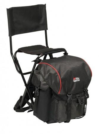 abu garcia rucksack stuhl mit lehne angelstuhl. Black Bedroom Furniture Sets. Home Design Ideas